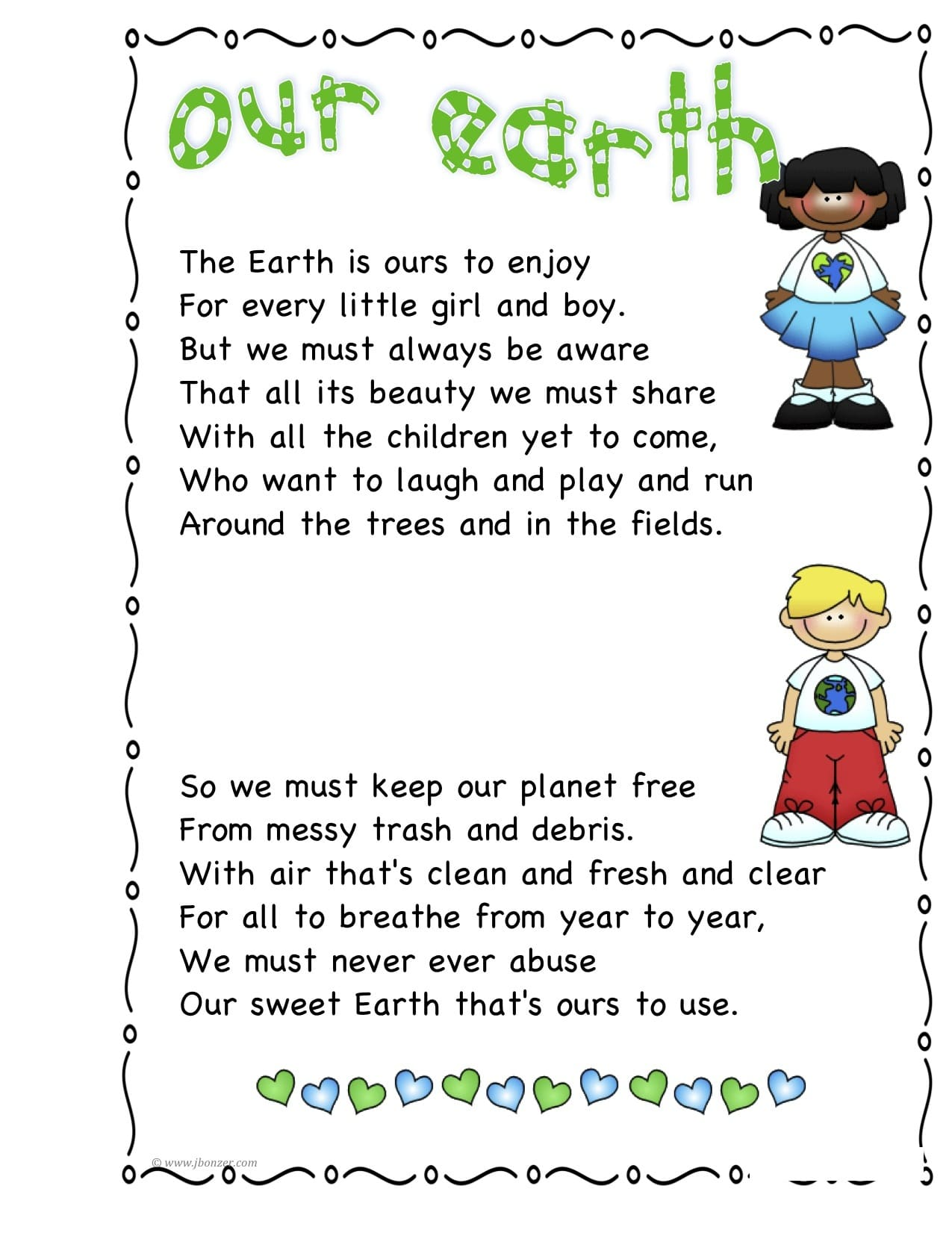Earth Day Poem Unique