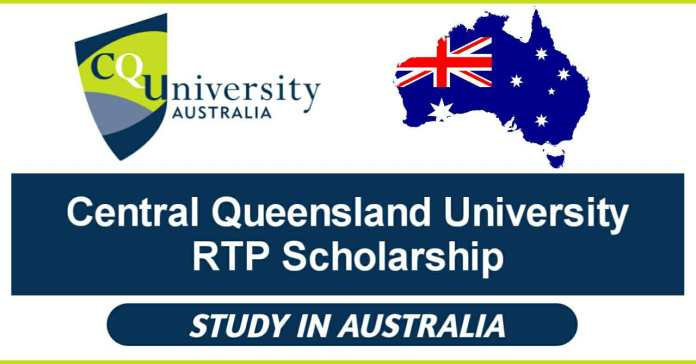 Central Queensland University RTP Scholarship 2021 Fully Funded in Australia