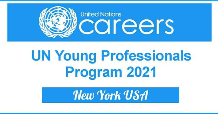 UN Young Professionals Program 2021 in United States - Apply Now
