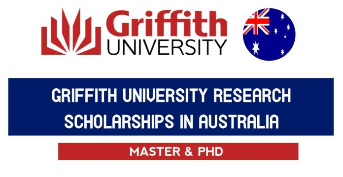 Griffith University Research Scholarship Program 2021 - Study in Australia
