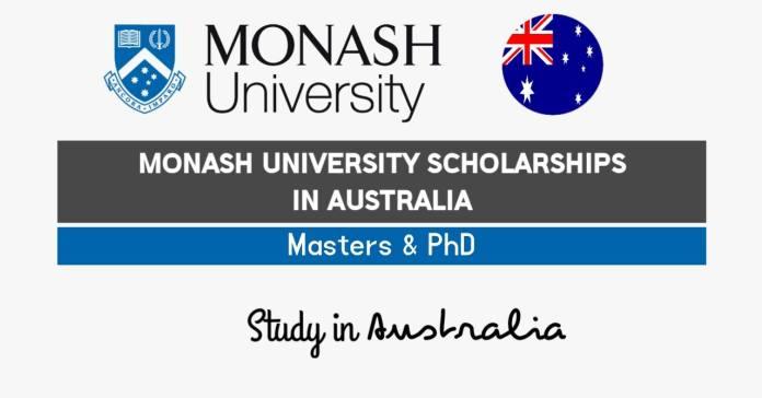Monash University Scholarships 2021-22 in Australia (Funded)