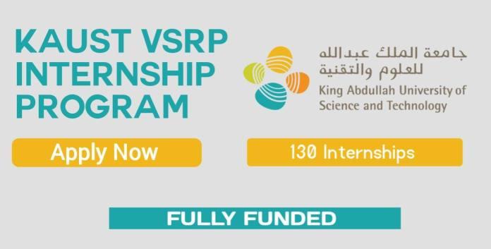 KAUST VSRP Internship 2022 in Saudi Arabia (Fully Funded)