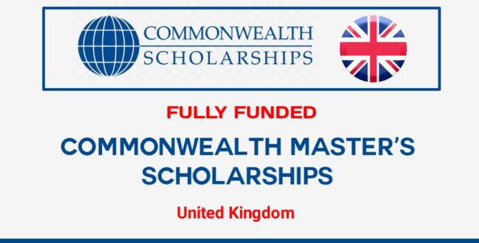 Commonwealth Masters Scholarships in the UK 2022 (Fully Funded)