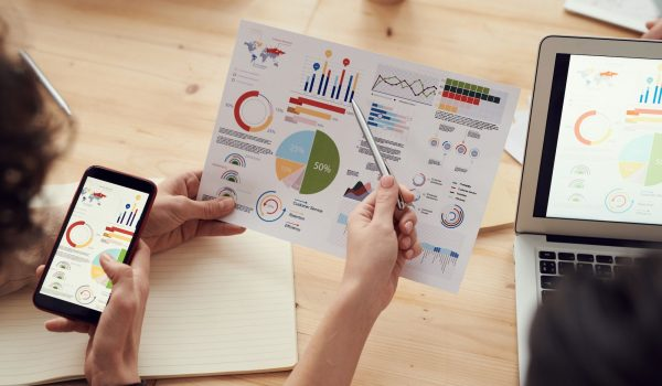 Estadísticas mostrando algunas claves necesarias para vender por internet.
