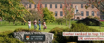 University of Exeter Business School World Class Scholarships -(Full Tuition)
