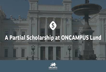 Apply for Scholarship at ONCAMPUS Lund to Study in Sweden!