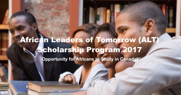African Leaders of Tomorrow Scholarship