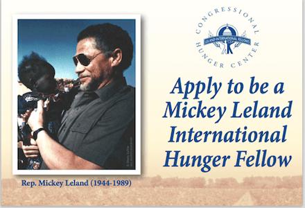 Mickey Leland International Hunger Fellows Program 2017-19 (Funded)