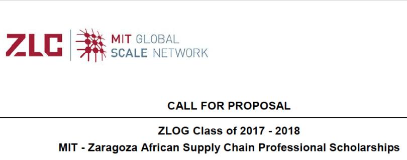 MIT-Zaragoza Scholarship Program 2017 / 2018 | Concoursn com