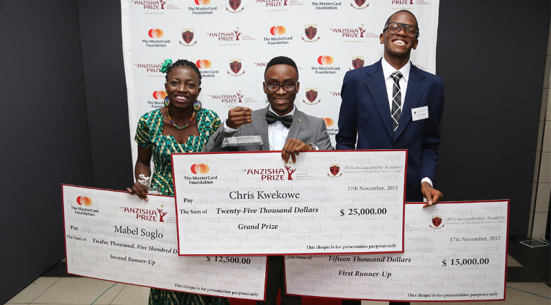 Anzisha Prize for Young African Entreprenuers 2017