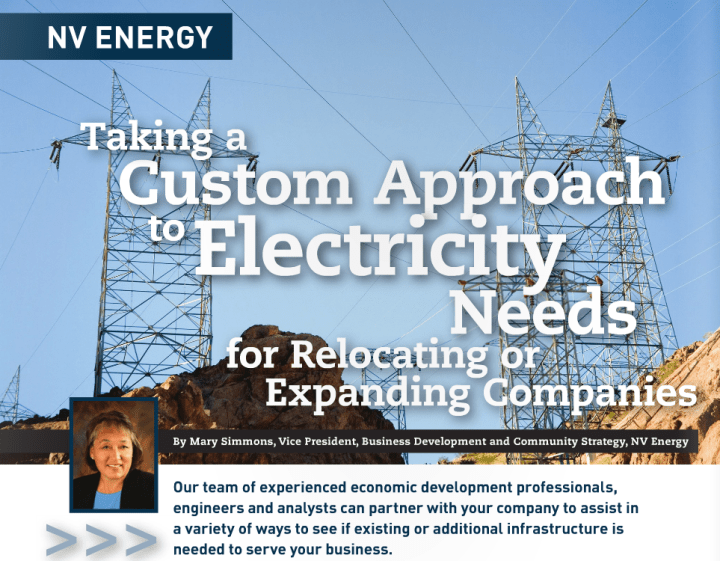 Taking a Custom Approach to Electricity Needs for Relocating or Expanding Companies