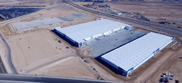 Vegas Desert Turns into Distribution Hub