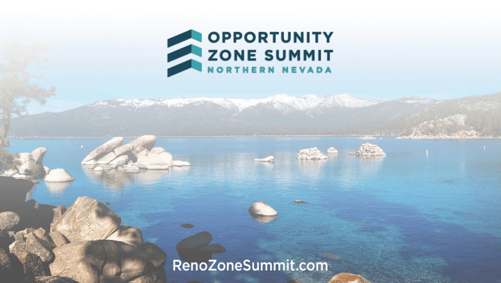 Reno to Host Northern Nevada Opportunity Zone Summit with Keynote Speaker, Steve Glickman