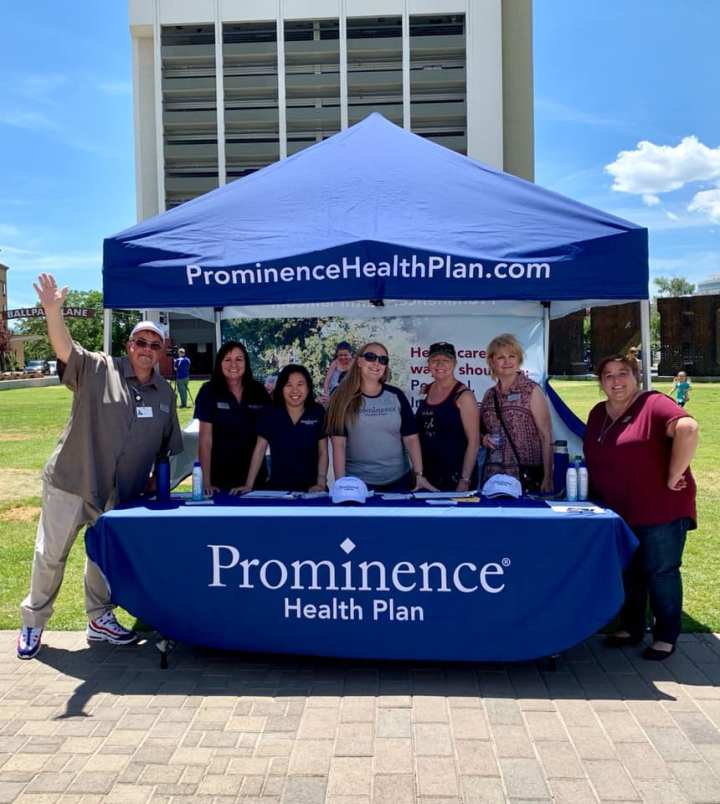 Prominence Health Plan Team promoting AEP in 2019.