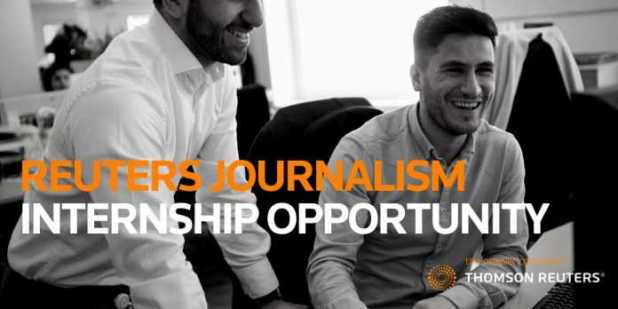 Thomson Reuters Journalism Training Programme 2019 (Middle East & Africa) – Funded Training at Reuters, London-United Kingdom