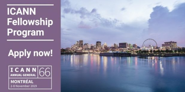 ICANN66 Fellowship Program 2019 (Fully Funded to attend the ICANN66 Annual General Meeting in Montréal, Canada)