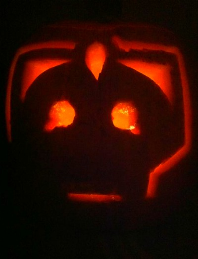 cyberman pumpkin