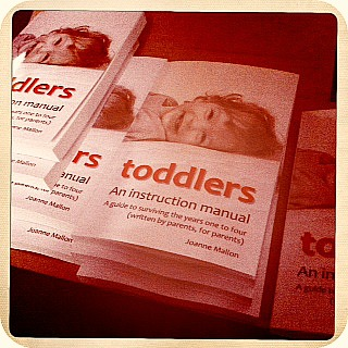 toddlers an instruction manual cover