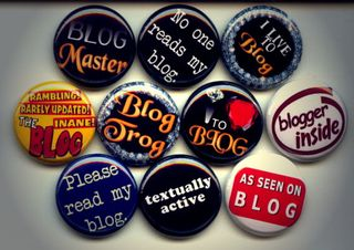 blogging badges