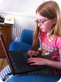 child blogger