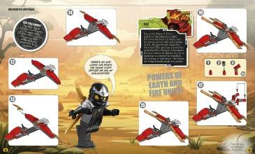lego ninjago brickmaster book