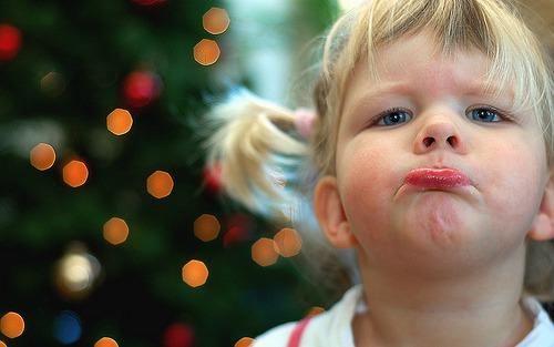 toddler tantrums at christmas