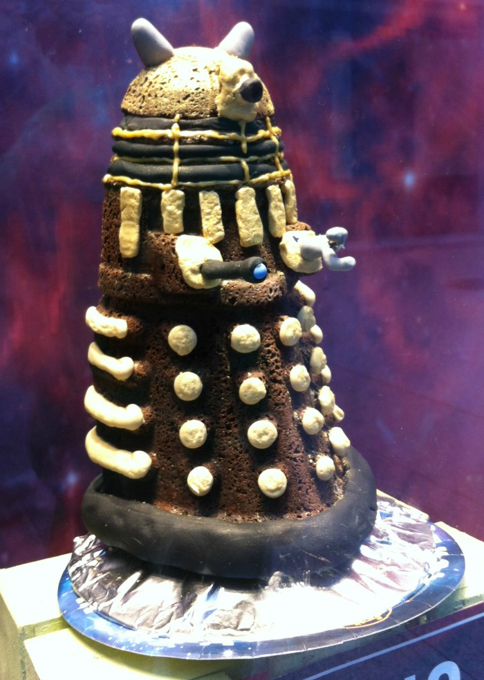 dalek cake mould lakeland
