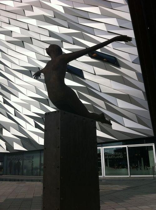 Belfast Titanic outside