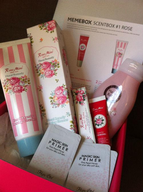 memebox korean beauty box scent box