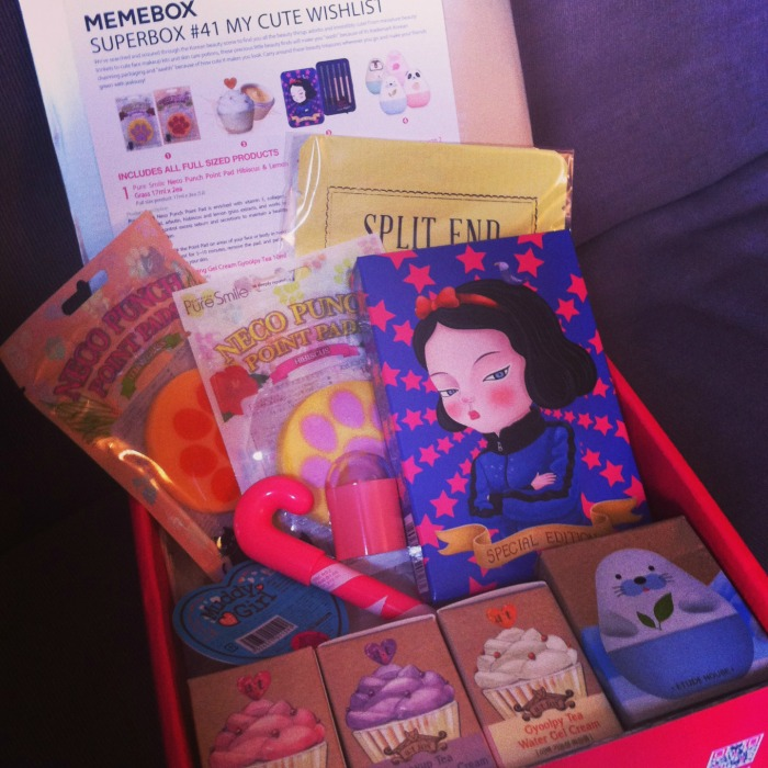 memebox cute wishlist