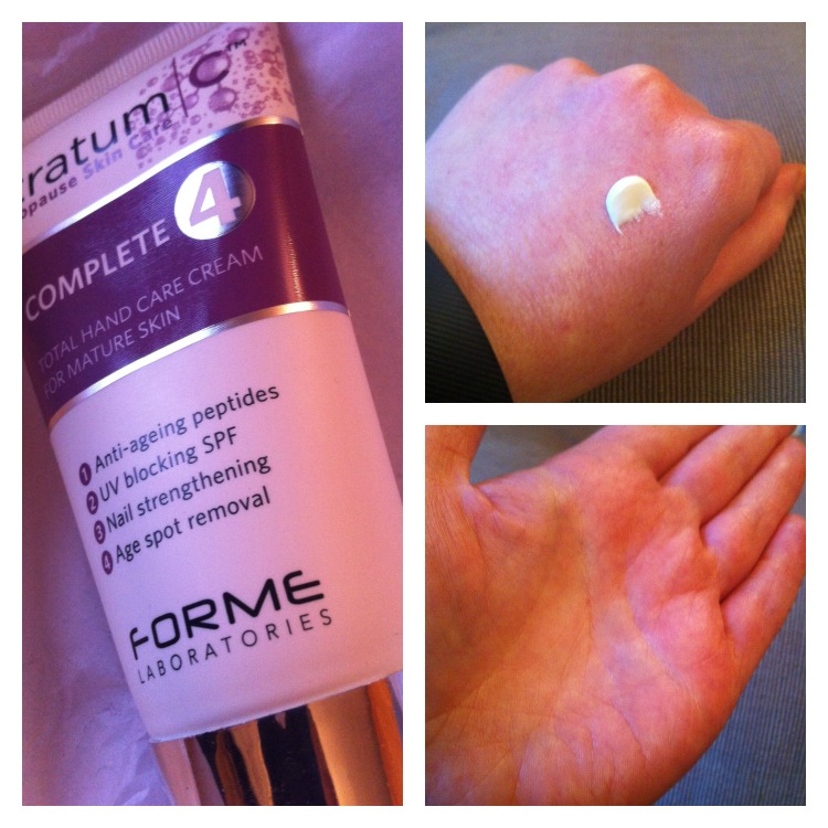 stratum c hand cream review