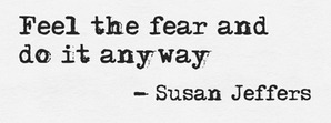 susan jeffers quote about fear