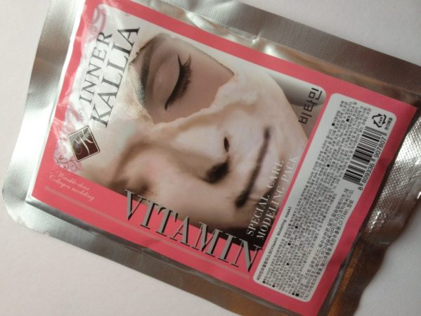 Korean beauty products Modeling mask