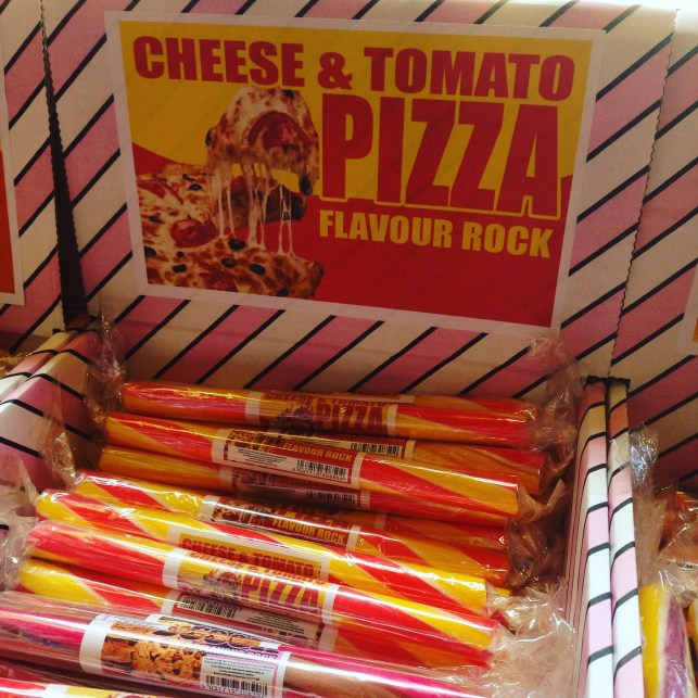 cheese and tomato pizza flavor rock