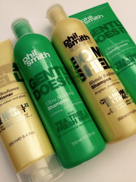 Phil Smith Be Gorgeous shampoo and conditioner from Sainsburys
