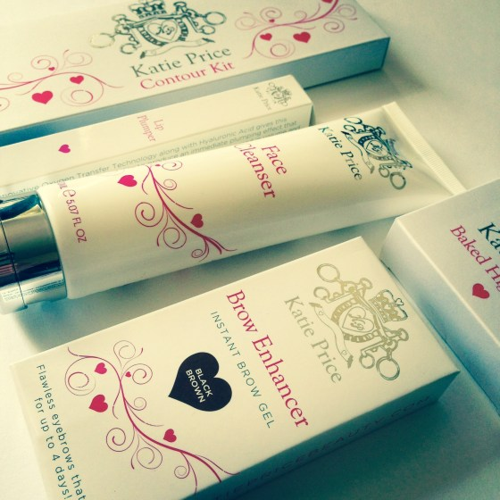 katie price beauty products review