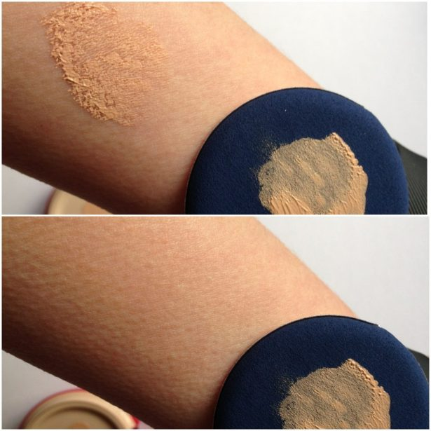 Skin79 BB cream cushion swatch