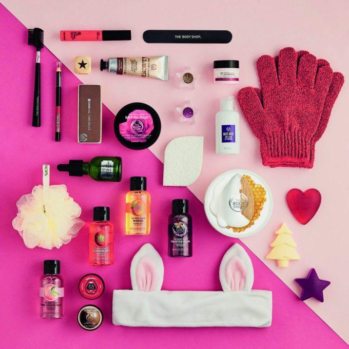 the body shop beauty advent calendars 2017