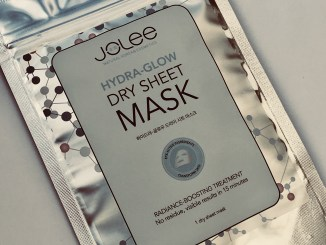 Beauty giveaway - Jolee dry sheet mask
