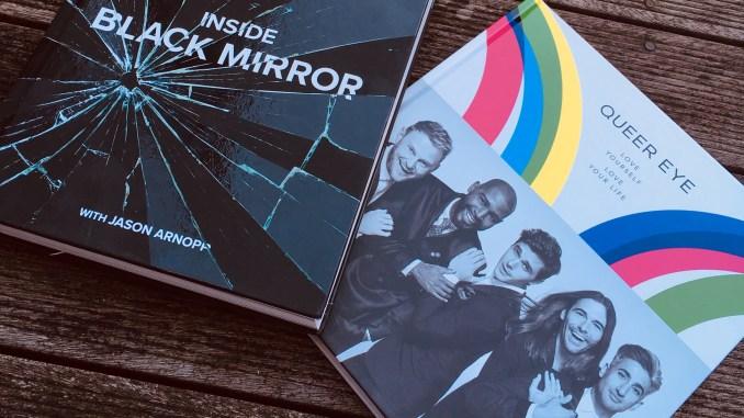 TV gift books Black Mirror & Queer Eye