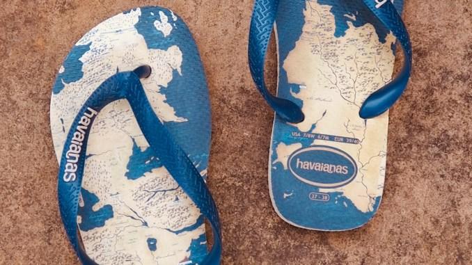havaianas x game of thrones sandals