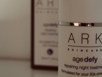 vegan skincare brand ARK night serum