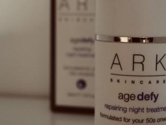 vegan skincare brand ARK night serum