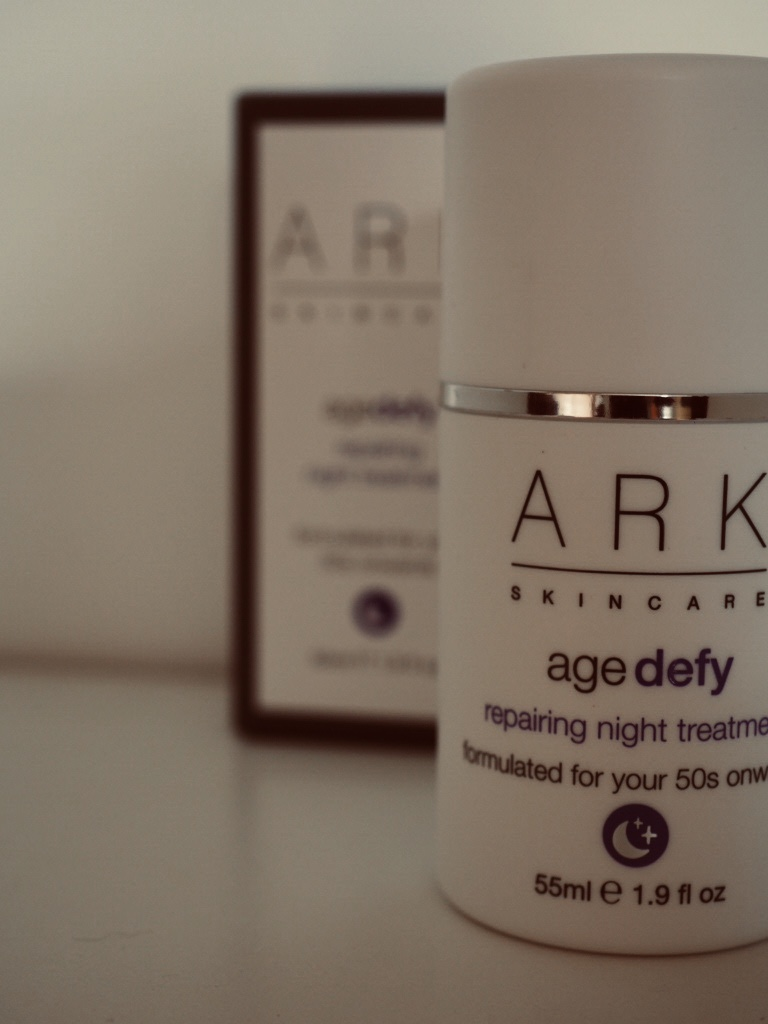 ARK Skincare Age Defy night time treatment cream suitable for vegans. UK vegan skincare brands
