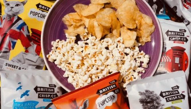 British Snack Company popcorn & crisps