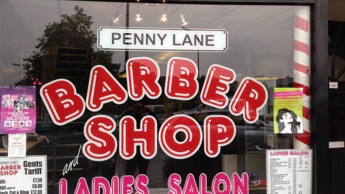 Penny Lane Barber Shop Liverpool