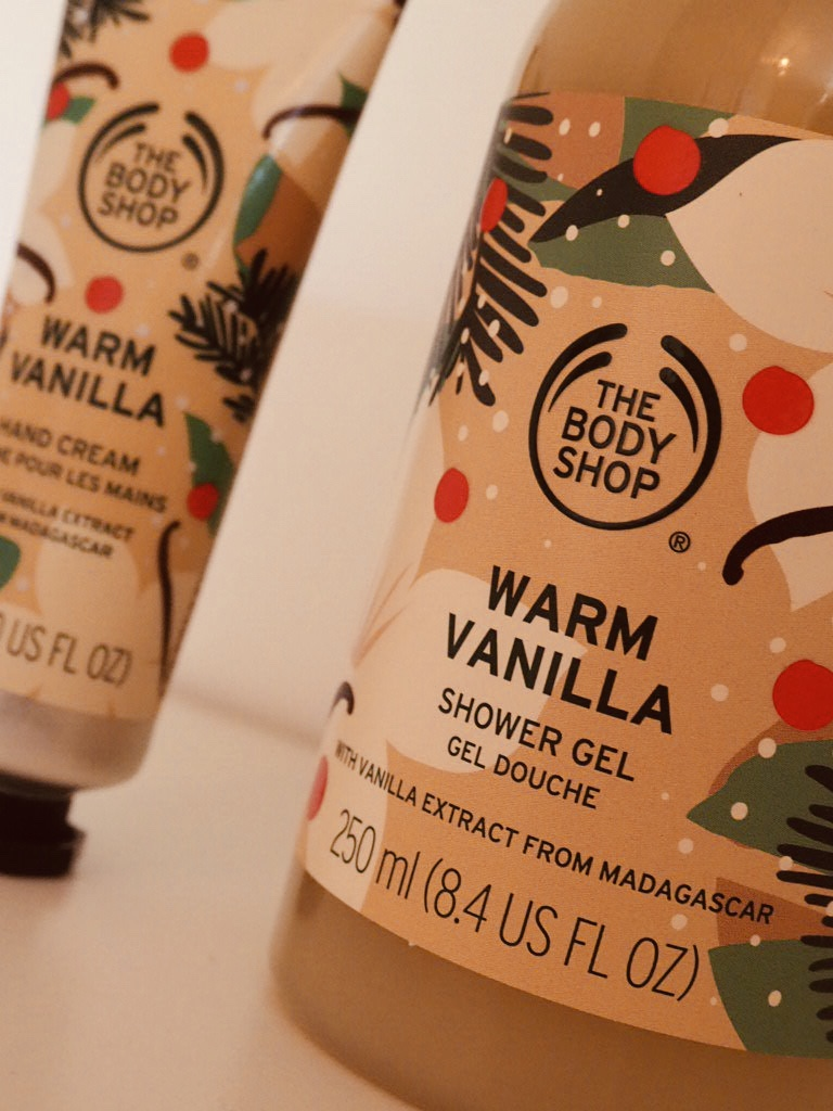 The Body Shop Christmas 2020 Warm Vanilla range