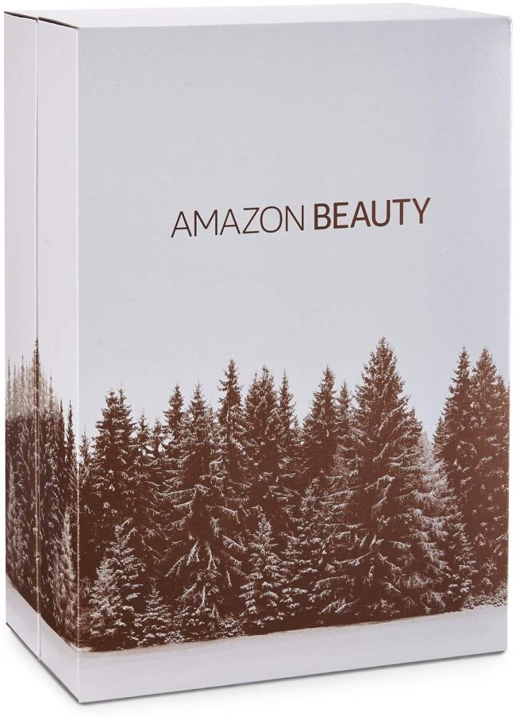 Amazon beauty advent calendar 2020 box