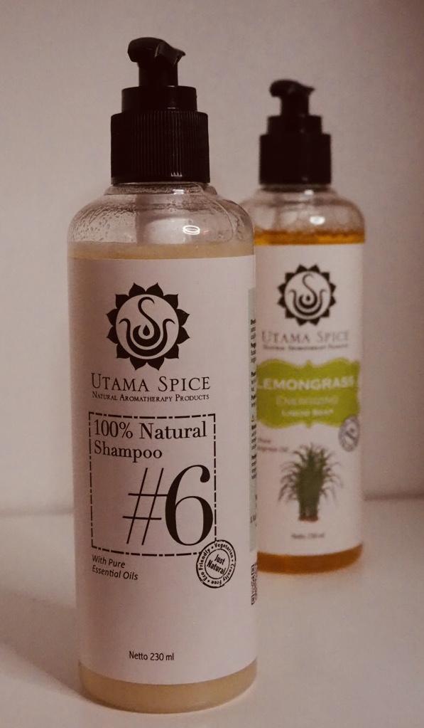Utama Spice Bali natural shampoo