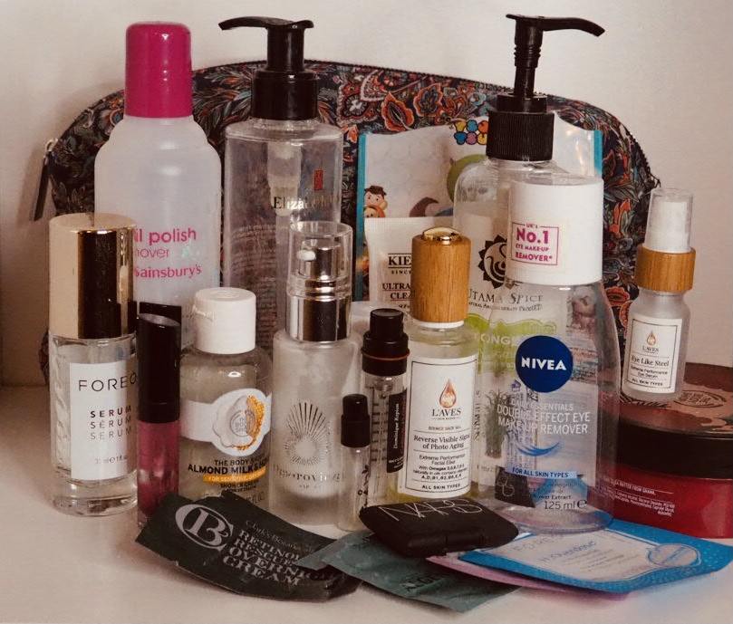 beauty product empties January 2021
